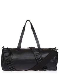 Leo Leather Duffle Luggage Bag
