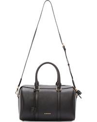 95cae5798539 ... Burberry London Black Leather Large Duffle Bag