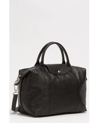 Longchamp Medium Le Pliage Cuir Leather Tote