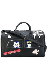 Karl Lagerfeld Patch Holdall Bag