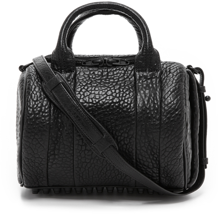 d3ef61819ae ... Alexander Wang Rockie Duffel With Matte Black Hardware ...
