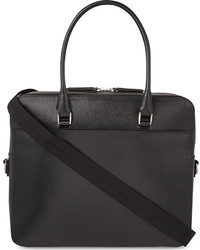 Royce Saffiano Leather 24 Hour Holdall