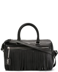Saint Laurent Fringed Duffle Tote