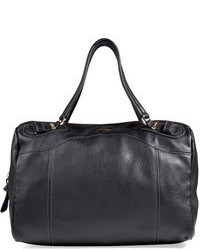 See by Chloe See By Chlo Leather Duffle Bag In Black