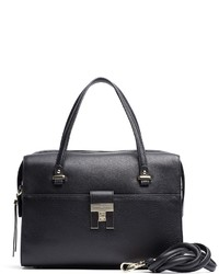 Tommy Hilfiger Th Lock Leather Duffle Bag