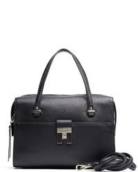 Tommy Hilfiger Th Lock Leather Duffle Bag