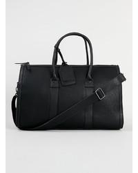 Topman Black Premium Doctors Duffel Bag