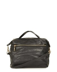 Topshop Mini Merino Carryall Black