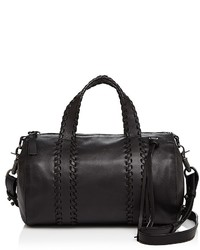 Mackage Whipstitch Leather Duffel Satchel