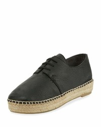 Vince Cynthia Lace Up Leather Espadrille