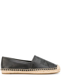 Tory Burch Perforated Logo Espadrilles
