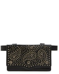 Bandana stud belt bag black medium 1150814