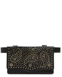 Bandana stud belt bag brown medium 1150814