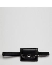 Glamorous Black Belt Bag With