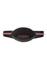 Thom Browne Black Football Bum Bag