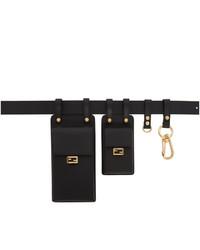 Fendi Black Multi Accessory Belt