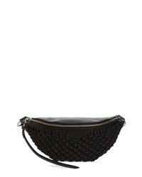 Rebecca Minkoff Bree Macrame Belt Bag