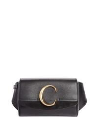 Chloé C Leather Convertible Belt Bag