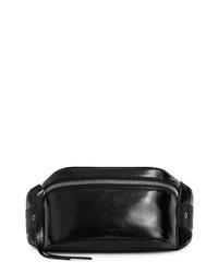 AllSaints Clip Leather Belt Bag