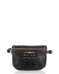 Brahmin Croc Embossed Leather Belt Bag
