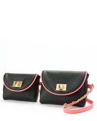 Juicy Couture Double Pouch Fanny Pack