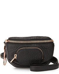 Alexander Wang Dumbo Pebbled Leather Belt Bag Black