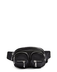 Topshop Faux Leather Belt Bag