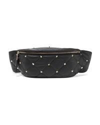 Valentino Garavani Boomstud Quilted Leather Belt Bag