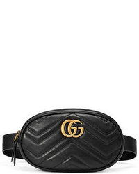 Gg marmont small matelass leather belt bag medium 3729547