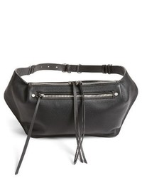 Rag & Bone Leather Belt Bag Black