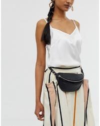 ASOS DESIGN Leather Classic Bum Bag