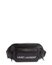 Saint Laurent Logo Nylon Belt Bag