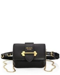 Prada Marsupio Leather Belt Bag