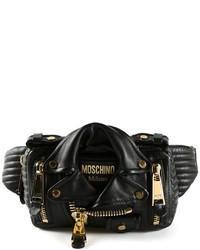 Moschino Biker Style Bum Bag