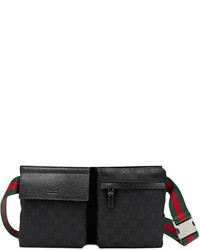Gucci Original Gg Canvas Belt Bag Black