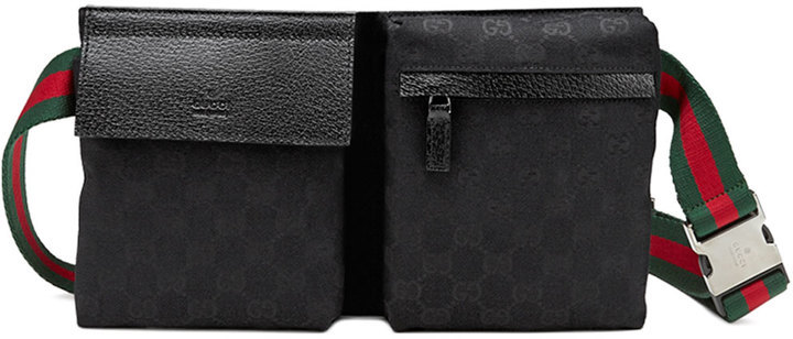 98ce84edfda0 Gucci Original Gg Canvas Belt Bag Black, $590 | Neiman Marcus ...