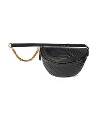 Balenciaga Souvenir Xs Aj Textured Leather Belt Bag