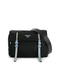 Prada Stud Detail Belt Bag