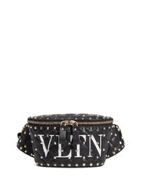 Valentino Garavani Vltn Logo Spike It Leather Belt Bag