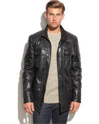 Boston Harbour Leather Field Jacket