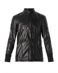 Bottega Veneta Leather Field Jacket