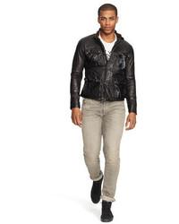 3bc2f8478 ... Polo Ralph Lauren Southbury Leather Biker Jacket