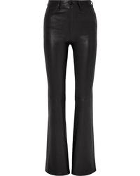 Rag & Bone Bella Leather Flared Pants