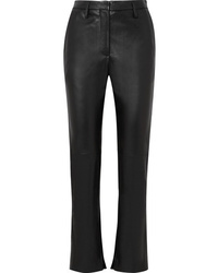 Golden Goose Deluxe Brand Cembra Leather Flared Pants