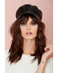 Nasty Gal Roxy Leather Cap