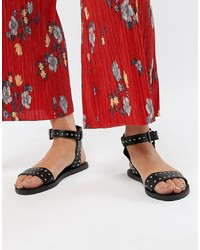 New Look 2 Part Stud Flat Sandal