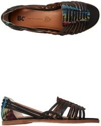 BC Footwear Bc Guess Again Woven Flat Sandal