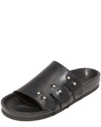 IRO Birki Leather Slides