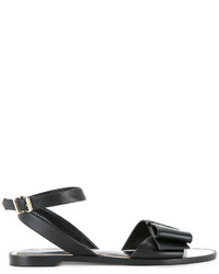 Lanvin Bow Vamp Sandals