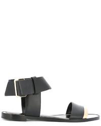 Lanvin Buckled Ankle Sandals